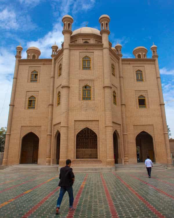 Keriya mosque, Xinjiang, China in 2012