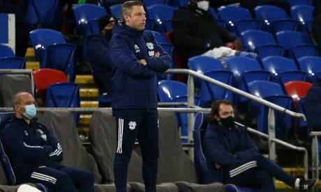Cardiff City sack manager Neil Harris after run of six defeats in a row