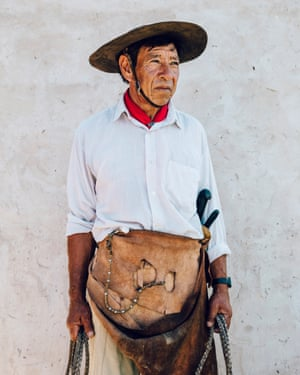 Ramon Moncho Miño, 60, a Gaucho from the Ibera region