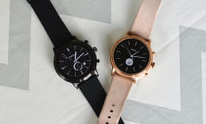 Fossil Gen 5 watches: the Carlyle HR and Julianna HR models