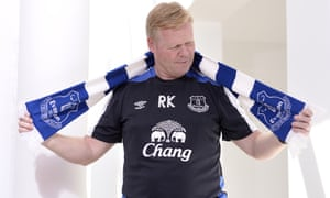 Ronald Koeman was always Everton's preferred choice for the manager's job