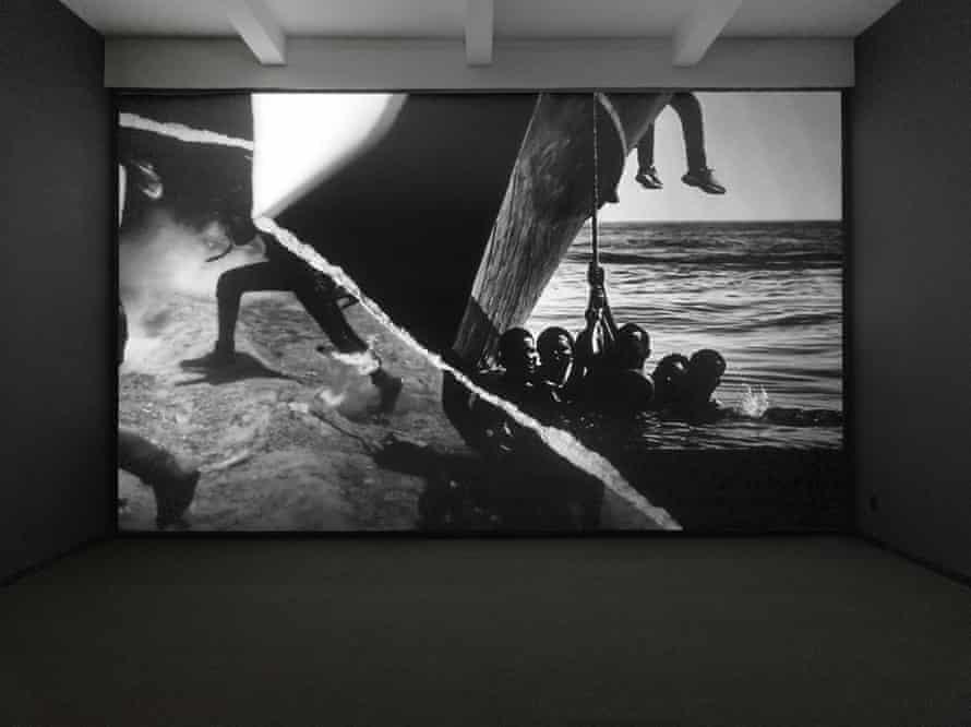 Robert Longo - Icarus Rising, 2019