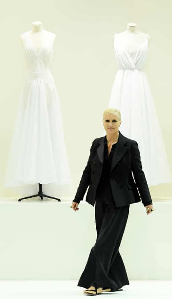 Maria Grazia Chiuri, Dior's first female designer.