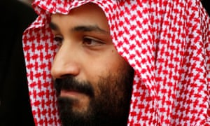 Saudi Arabia's crown prince, Mohammed bin Salman