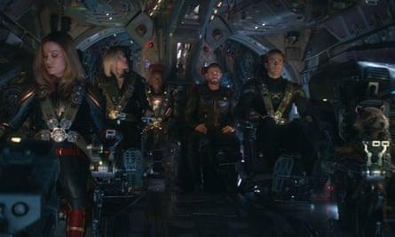 A distant universe... Avengers Endgame
