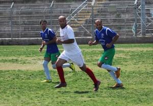 Haled Kaabiye was playing against his home town club, Hapoel Kaabiye