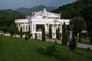 White House Restaurant, in the Shar Mountains national park near Prizrenr