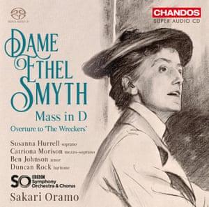 Dame Ethel Smyth: Mass in D/The Wreckers Overture album art work