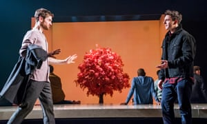 Kyle Soller and Samuel H Levine in The Inheritance at the Young Vic.