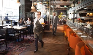 'Hot, new, glamorous, unmissable': Arros QD in London W1.