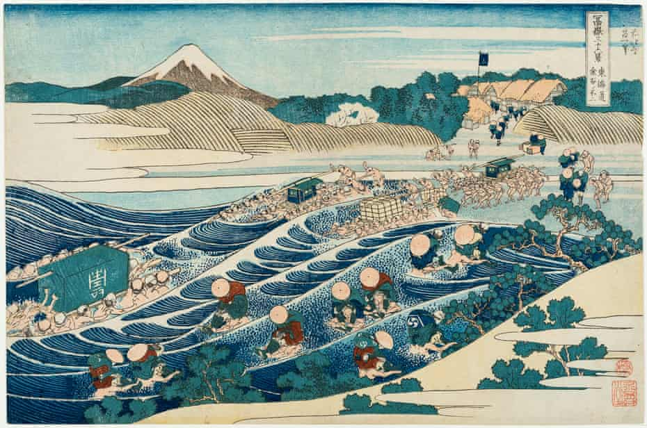 From the Katsushika Hokusai's at the National Gallery of Victoria in Melbourne.