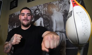 Andy Ruiz, Jr will fight Anthony Joshua at Madison Square Garden in June.