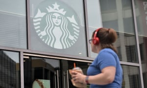 Starbucks is one of a number of companies responding to pressure to be more environmentally friendly.