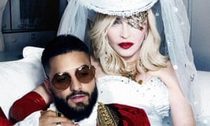 'Quite unlike anything we've heard from Madonna before' ... Madonna and Maluma.