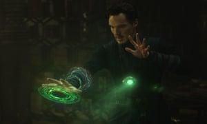 Benedict Cumberbatch is the eponymous Dr Strange.