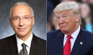 Gonzalo Curiel and Donald Trump.