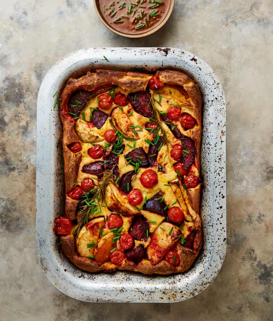 Yotam Ottolenghi's five-a-day toad in the hole.