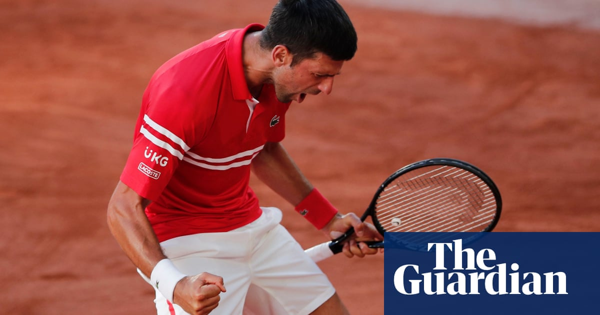 Novak Djokovic rallies to beat Stefanos Tsitsipas in epic French Open final
