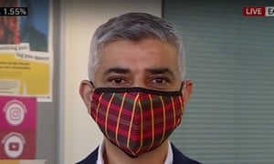 Sadiq Khan on Sky News