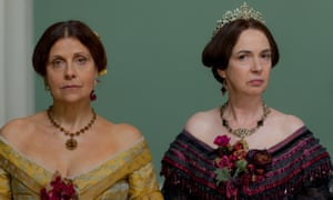 Rebecca Front as Lady Arabella and Phoebe Nicholls as Countess De Courcy