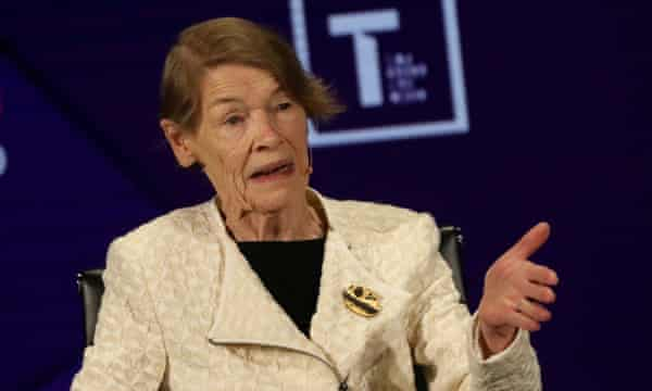 Actor and politician Glenda Jackson in New York on 12 April 2019.