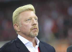 """Boris Becker: """"it's best to leave it to a professional."""""""