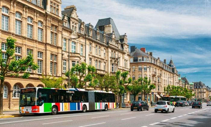 Luxemburgo se tornou o 1º país do mundo a oferecer transporte público de graça
