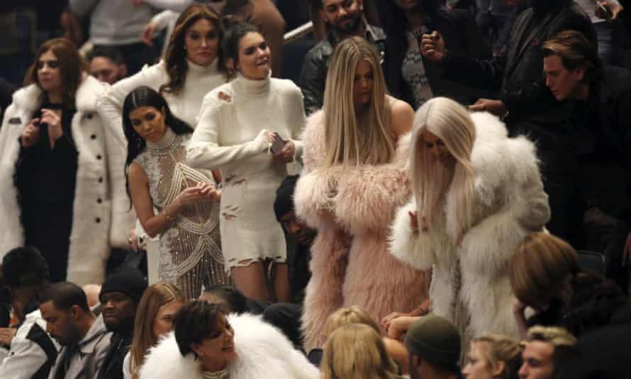 Caitlyn Jenner, Kourtney Kardashian, Kendall Jenner, Khloe Kardashian and Kim Kardashian arrived dressed in white,