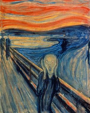 Edvard Munch's The Scream.