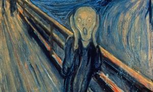 The Scream by Edvard Munch, 1893.