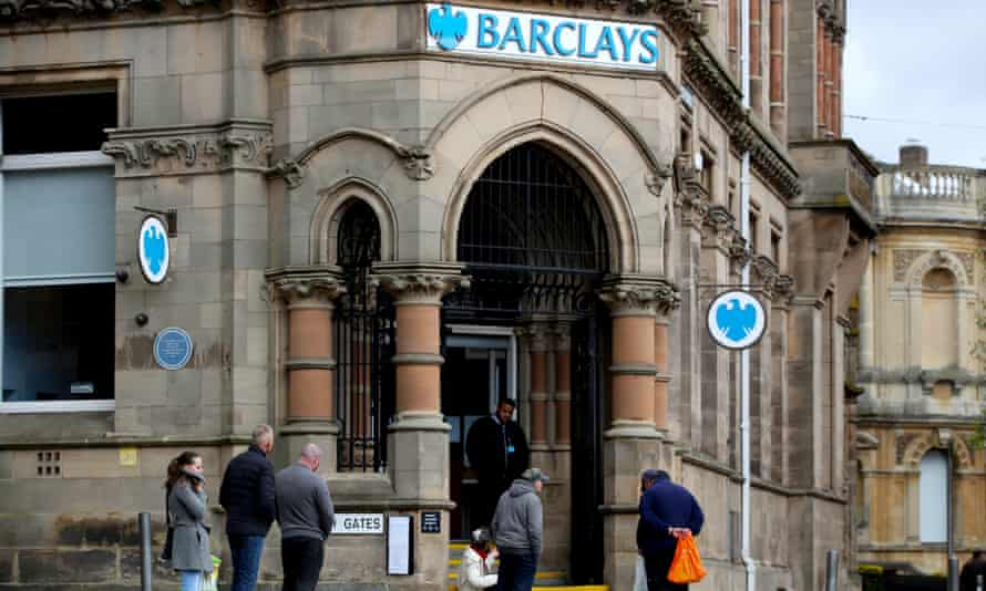 A Barclays branch in Wolverhampton