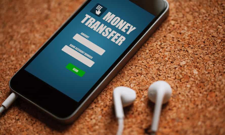 a money transfer app