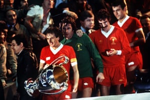 Thompson heads back to the pitch with the trophy