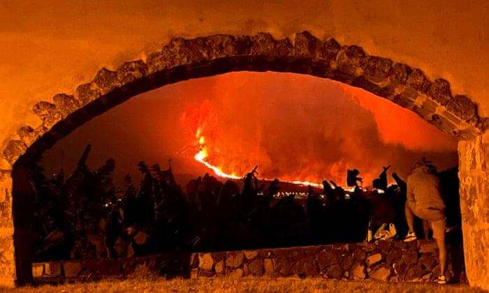 Spain, Spanish island of La Palma,volcano, Harbouchanews