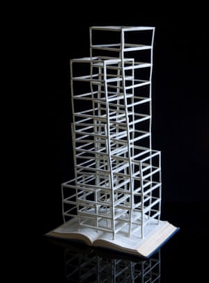 A General Introduction to Psychoanalysis book sculpture by Stephen Doyle.