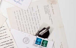 'They come from the heart': poet laureate Sir John Betjeman's comments on her poems make his letter the most important in Julie Myerson's collection.