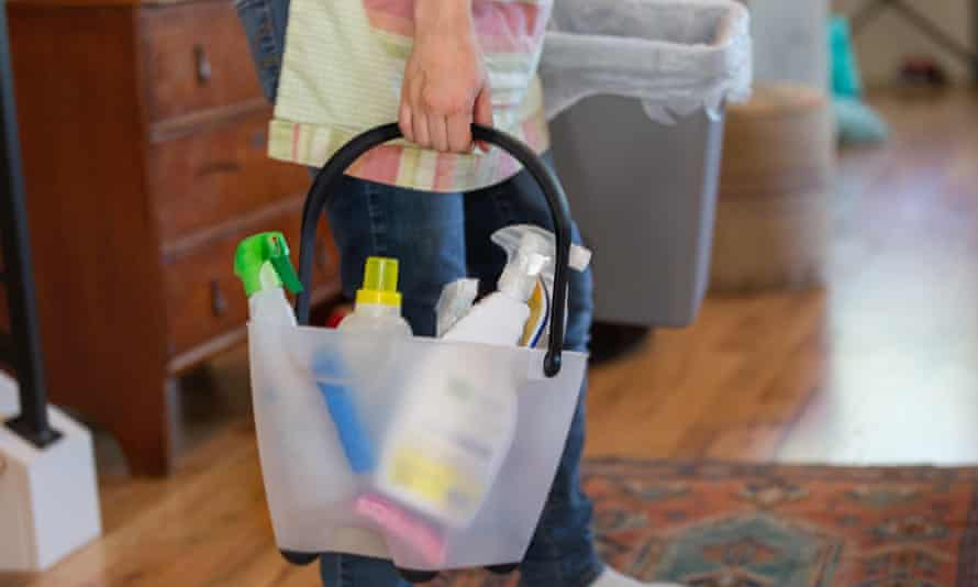 Household cleaning products are the cause of many poisonings during lockdown.