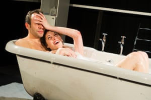 Phoebe Waller-Bridge with Keir Charles in Mydidae, Soho theatre, London, 2012
