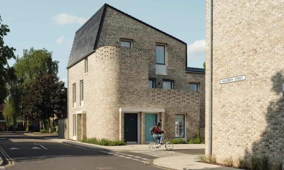 Quietly miraculous … the Goldsmith Street social housing project.