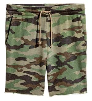 Sweat shorts £17.99, hm.com