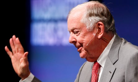 T Boone Pickens in Washington in 2014.