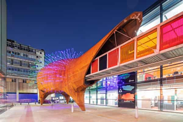 Curiosity … the Neuron Pod plugs in to Queen Mary University of London's Whitechapel campus