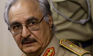 General Khalifa Haftar has refused to recognise the EU deal to stem the migrant influx through Libya.