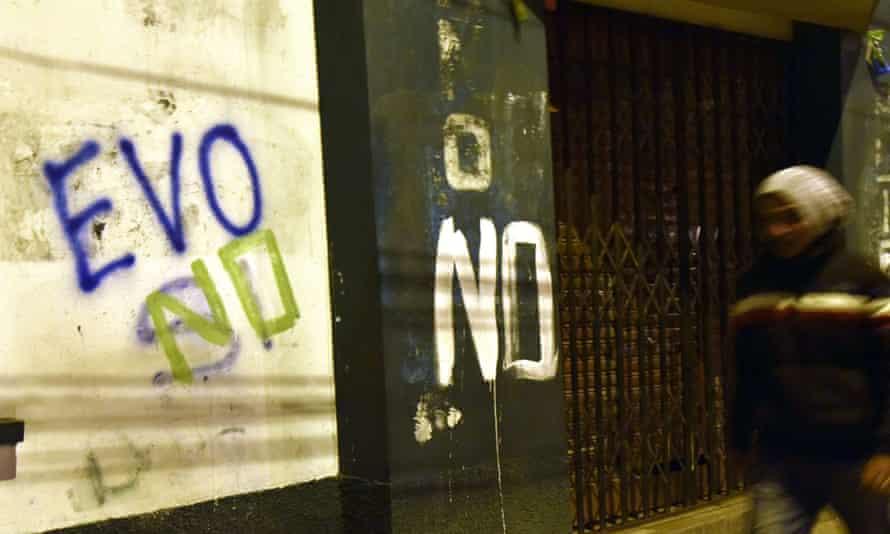 Evo Morales Bolivia national referendum election