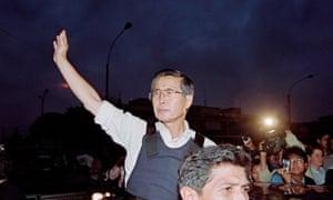 Alberto Fujimori in 1997.