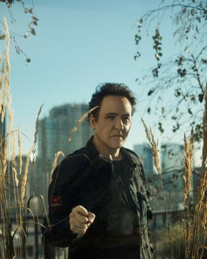 Actor John Cusack photographed in Chicago.