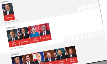 A screen shot from the American Energy Alliance site.