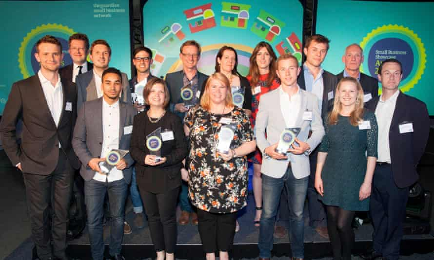 winners and presenters of awards