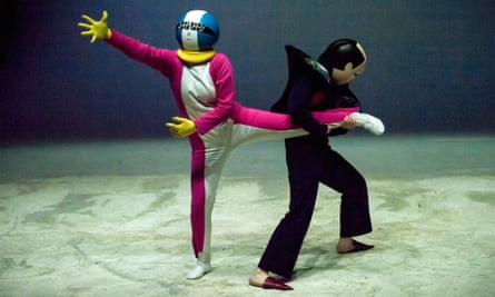 Dewey Dell's Marzo … manga wrestling in space.