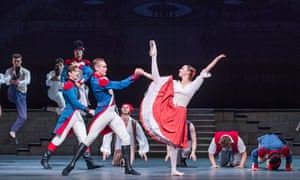 A scene from The Flames of Paris by The Bolshoi Ballet at the Royal Opera House